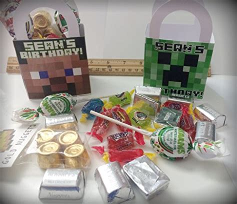 party themes uae minecraft birthday party supplies favors treat boxes in