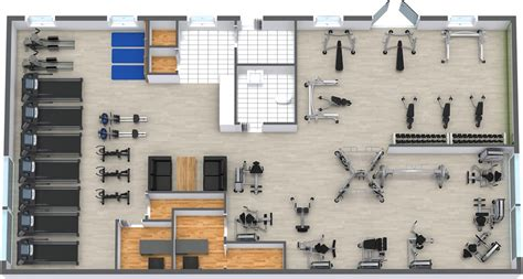 Gym Layout gym floor plan roomsketcher