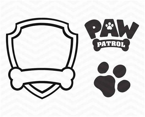 Paw Patrol Badge Printables Thekindproject Paw Patrol Shield Template