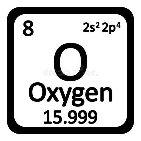 el elemento the element 8425343402 205 cone do oxig 234 nio do elemento de tabela peri 243 dica ilustra 231 227 o stock ilustra 231 227 o de chemistry