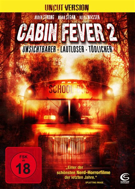 cabin fever two cabin fever 2 2009 scary de