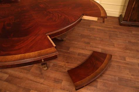 extra large round dining room tables high end extra large amp long mahogany dining table seats