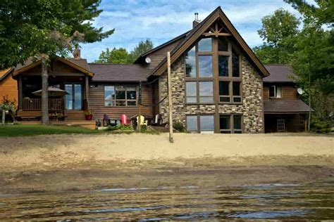 luxury cottage rental ontario ontario luxury cottage rentals serenity a luxury cottage rental owen sound ontario