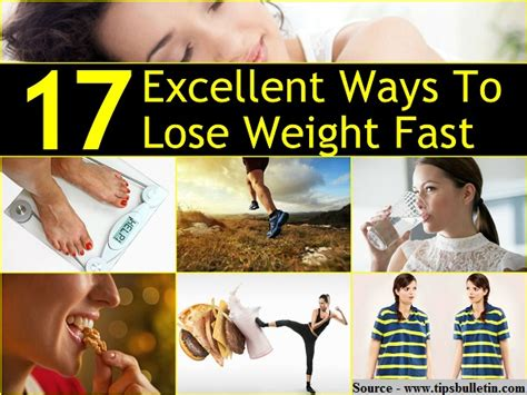 Ways To Shed Fast by 17 Excellent Ways To Lose Weight Fast Home And Tips