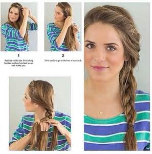simple side braid hairstyles my