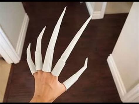 How To Make A Claw Out Of Paper - how to make a paper claw