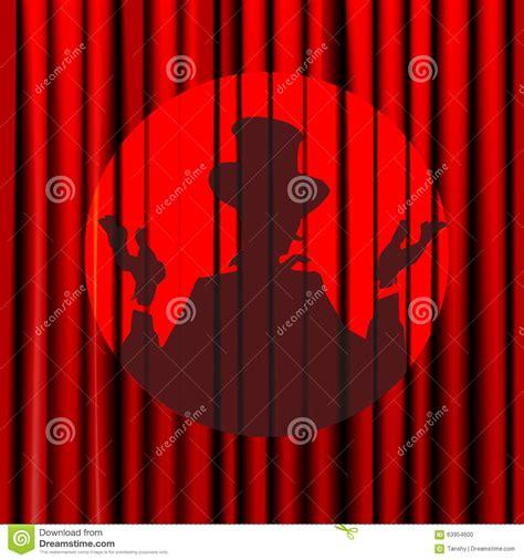 vorhang schloss schattenbild schatten magier schauspieler schloss den