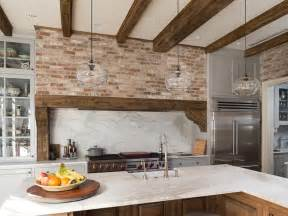 Colors For A Kitchen With Light Oak Cabinets - 47 brick kitchen design ideas tile backsplash amp accent walls designing idea
