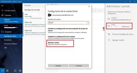 quitar imagenes cuenta windows 10 como eliminar o cerrar sesi 243 n en la cuentas de correo
