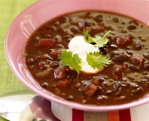 quick and easy vegetarian black bean soup with vegan option