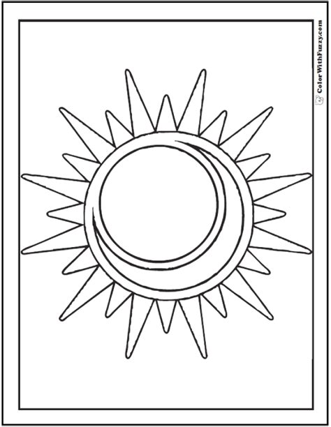 sun coloring page pdf great sun and moon coloring pages for kids images resume