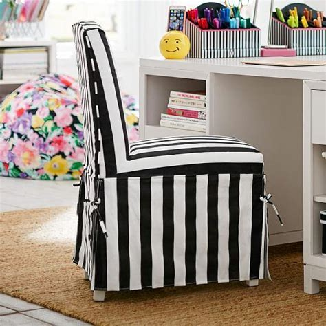 black and white desk chair black and white maybaby slipcover desk chair