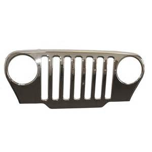 Jeep Tj Grill All Things Jeep Chrome Grille Overlay By Omix Ada For