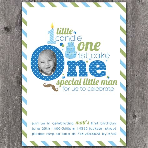 40th birthday ideas baby first birthday invitation