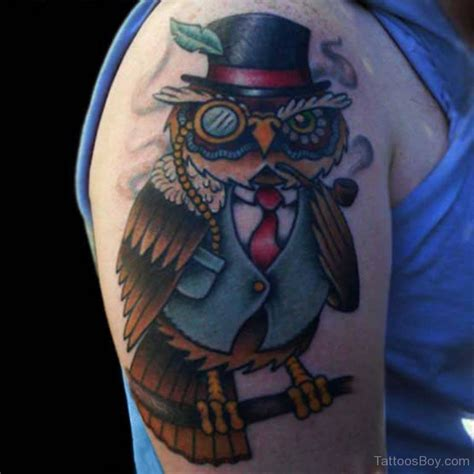 New Color Owl owl tattoos designs pictures page 25