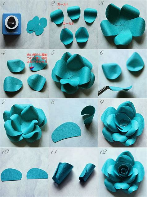 How To Make A Paper Punch - how to make a with craft punch paper fleurs de