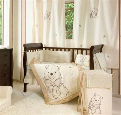 Unisex Cot Bedding Sets Details About 4 Unisex Winnie The Pooh Baby Crib Bedding Cot Set Rrp 250 00 Baby Crib