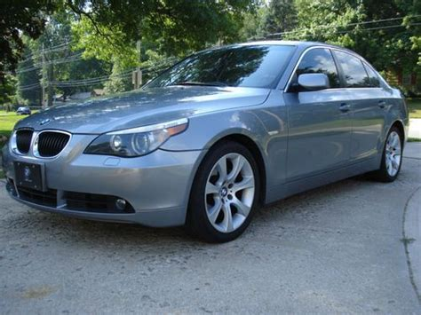 how cars run 2004 bmw 5 series parking system buy used 2004 bmw 530i e60 no reserve in overland park kansas united states