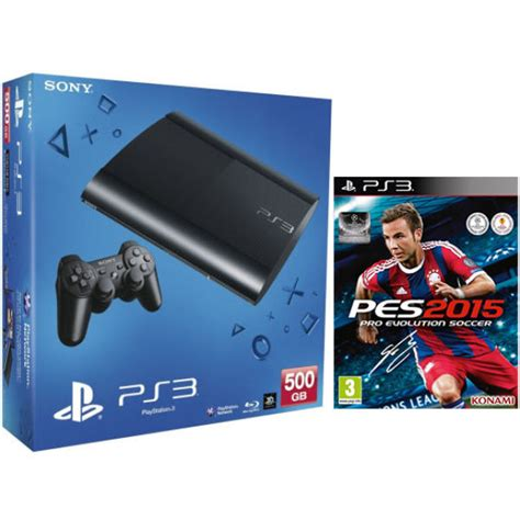 new ps3 console ps3 new sony playstation 3 slim console 500 gb with pes