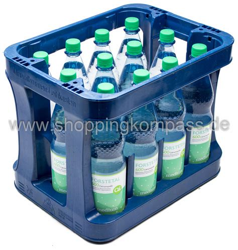 1 kasten wasser mineralwasser forstetal mineralwasser medium 600