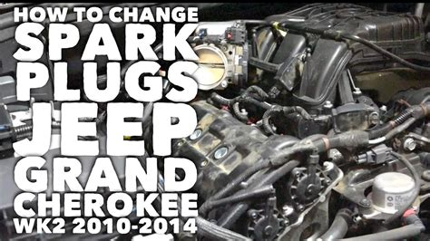 how to change spark plugs jeep grand cherokee wk2 2010