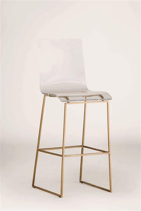 gabby king bar stool gabby king antique gold clear acrylic bar stool