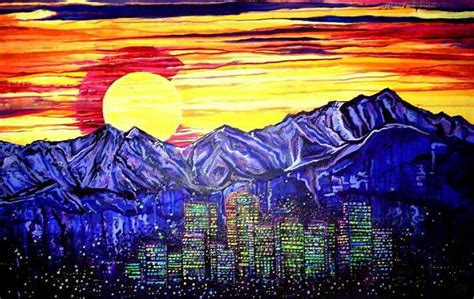 K Painting Denver by It S A Coloradical Painting Wow Colorado Denver