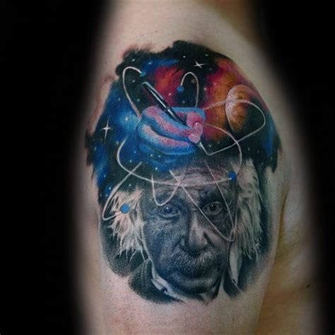 einstein tattoo 50 albert einstein designs for theoretical