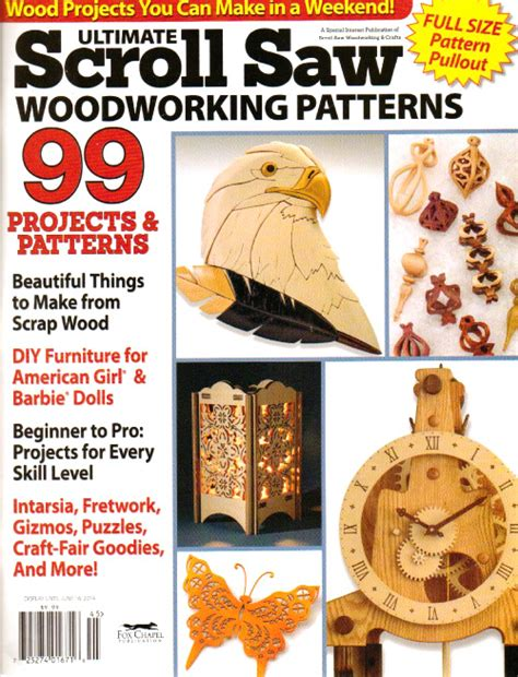 wood pattern magazines ultimate scroll saw woodworking patterns spring 2014