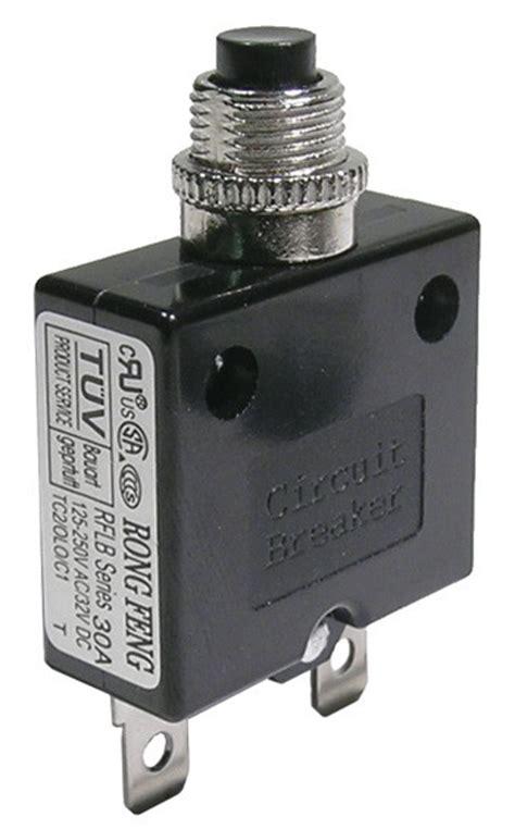 push button circuit breaker  vac vdc walectric