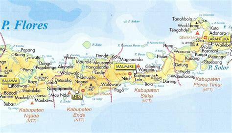 ntt indonesia map