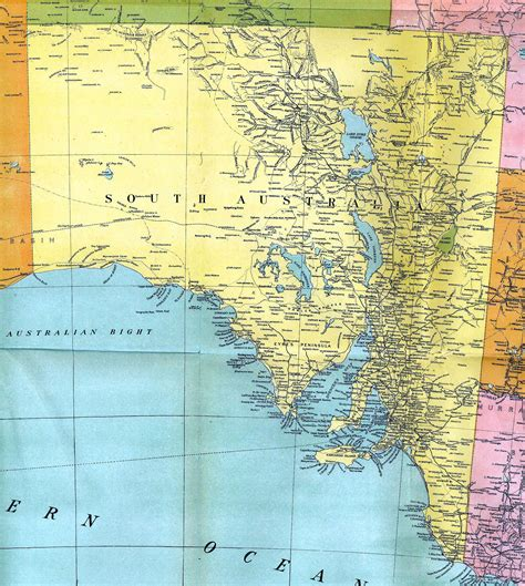 south australia map south australia colony