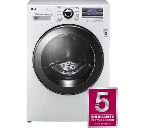 Lg Truesteam Washer Tub Clean lg f1695rdh truesteam washer dryer white