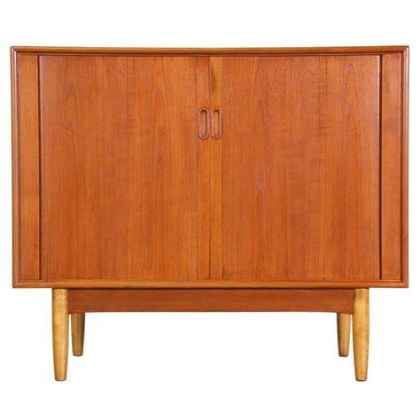 Tambour Door Cabinet Modern Tambour Door Cabinet By Hans C Andersen At 1stdibs