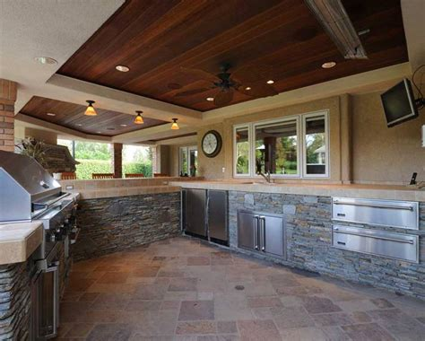 Build Kitchen Cabinets by Outdoor Kitchen Westside Remodeling