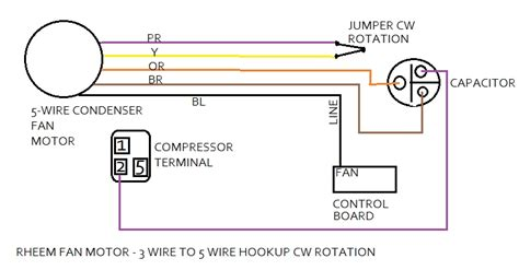 image gallery hvac fan motor wiring