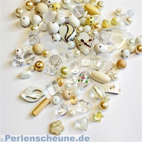 preiswerte len perlenmischung perlenmix glasperlen wei 223 creme