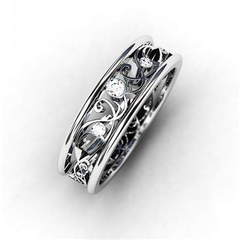 unique white gold wedding bands 17 best ideas about white gold wedding rings on