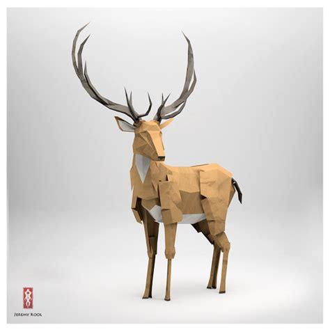 Kool Origami - excelentes esculturas de papel inspiradas en animales