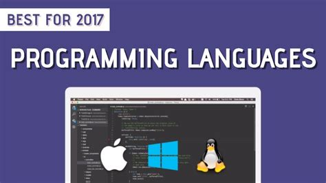Programming Languages 10 best programming languages that you need to learn in 2017