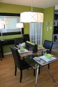 Dining Room With Green Accents 1000 Ideas About Green Accent Walls On Green