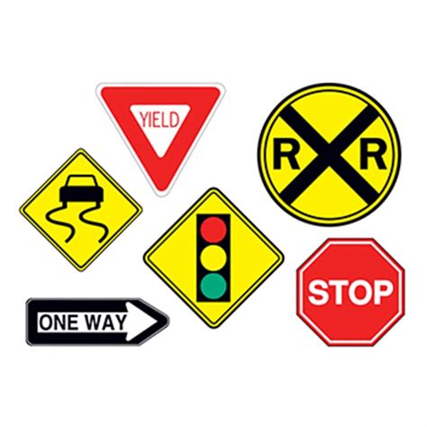 traffic signs temporary tattoo usimprints