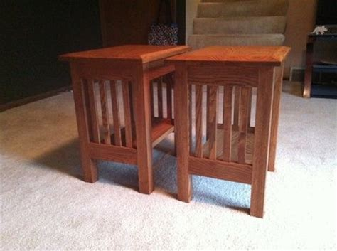 Free Wood End Table Plans