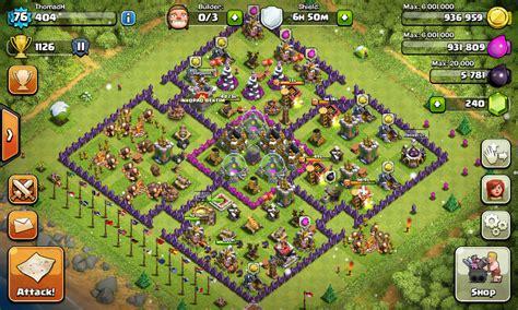 layout coc yg bagus pertahanan clash of clan yg bagus