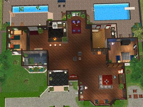 sims 3 how to buy a house mod the sims crystal cloud avenue a single story house with two bedrooms and two baths bg only