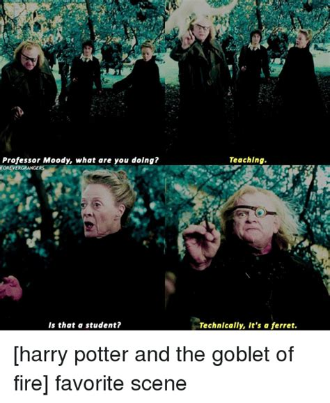 Harry Potter Firetruck Meme - professor moody what are you doing forevergrangers is