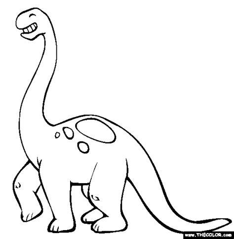 brontosaurus coloring page  brontosaurus