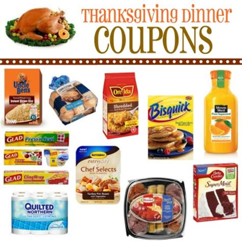 printable thanksgiving grocery coupons thanksgiving printable coupons