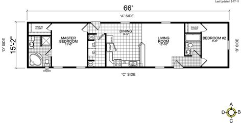 14x60 mobile home floor plans single wide manufactured homes floor plans gurus floor