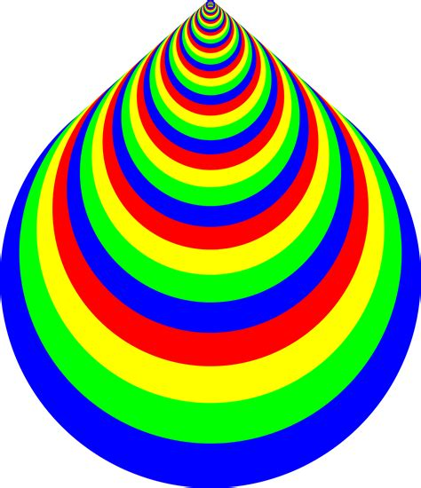 Colourful I Ring clipart colorful concentric rings